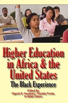 Higher Education in Africa and the United States book cover